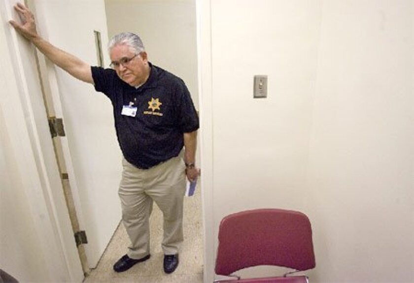 Robert Dominguez is among 45 chaplains who volunteer to help 