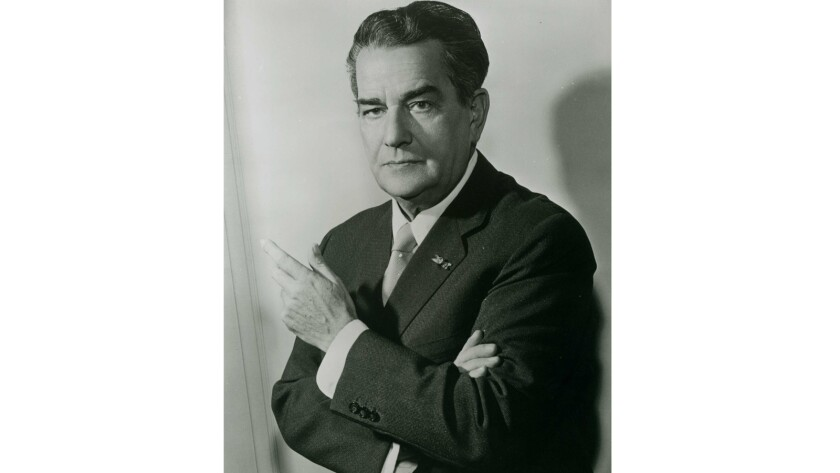 A portrait of conductor Eduard van Beinum.