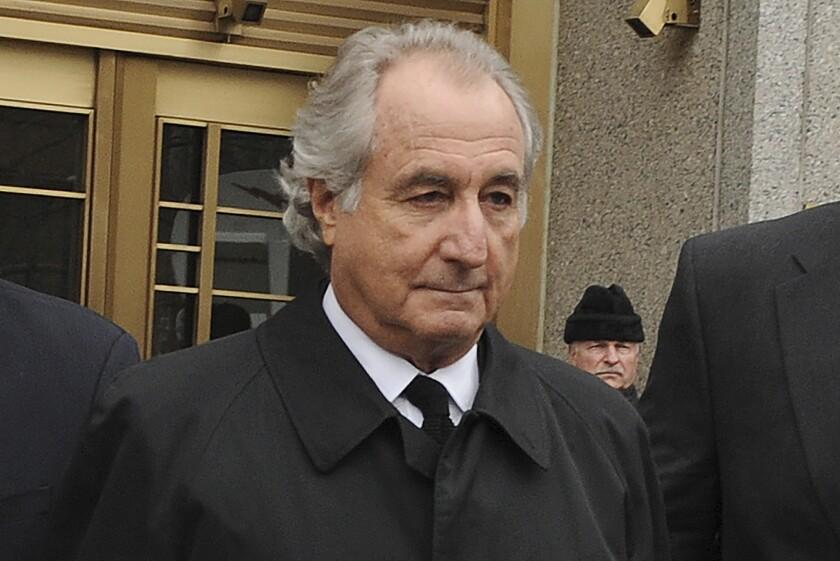 Bernard Madoff exits Manhattan federal court