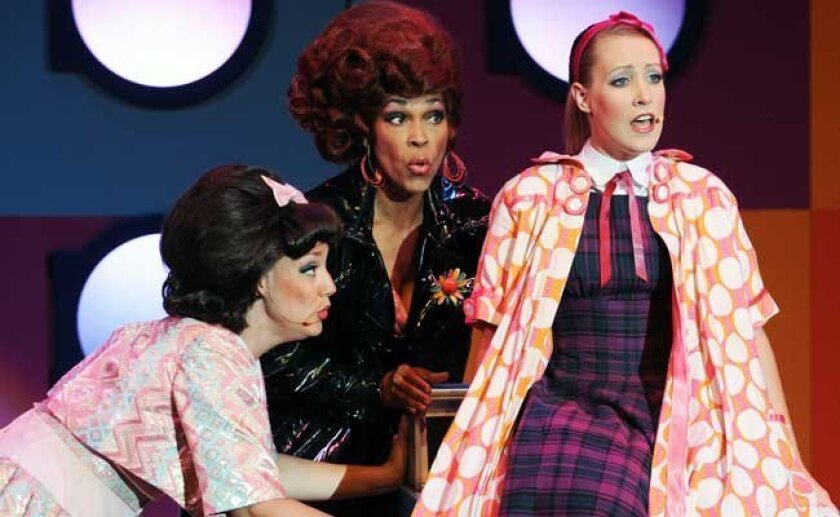 """Starlight Theatre's musical """"Suds"""" (L-R) Courtney Corey, Anise Ritchie and Samantha Mills."""
