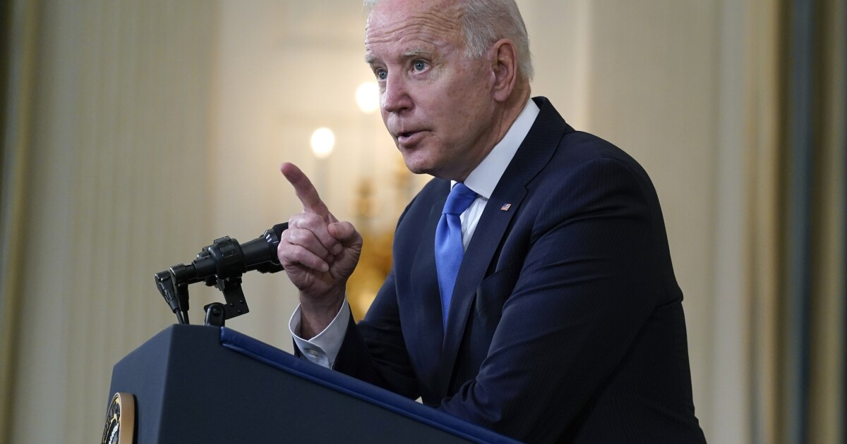 Biden supports waiving intellectual-property rules on vaccines - Los Angeles Times