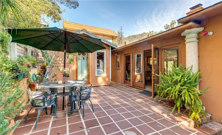 Hollywood Hills home has a Spanish vibe