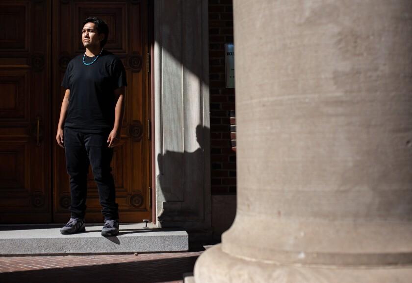 Avory Wyatt is president of the Indigenous Student Organization at the University of Nevada at Reno.