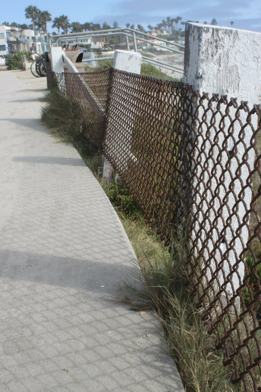 WindanSea S-Curve project will repair the fence and sidewalk at WindanSea Beach.