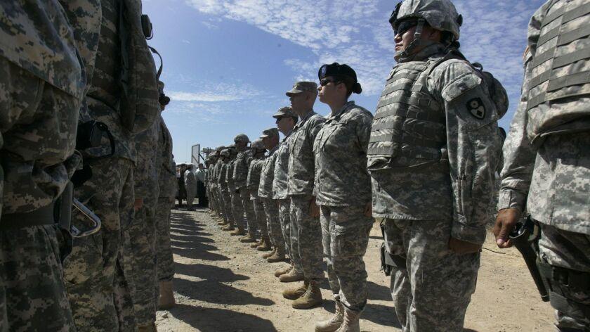 California National Guard troops