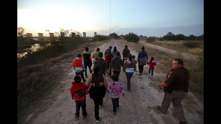 Immigrants in the Rio Grande Valley of Texas.