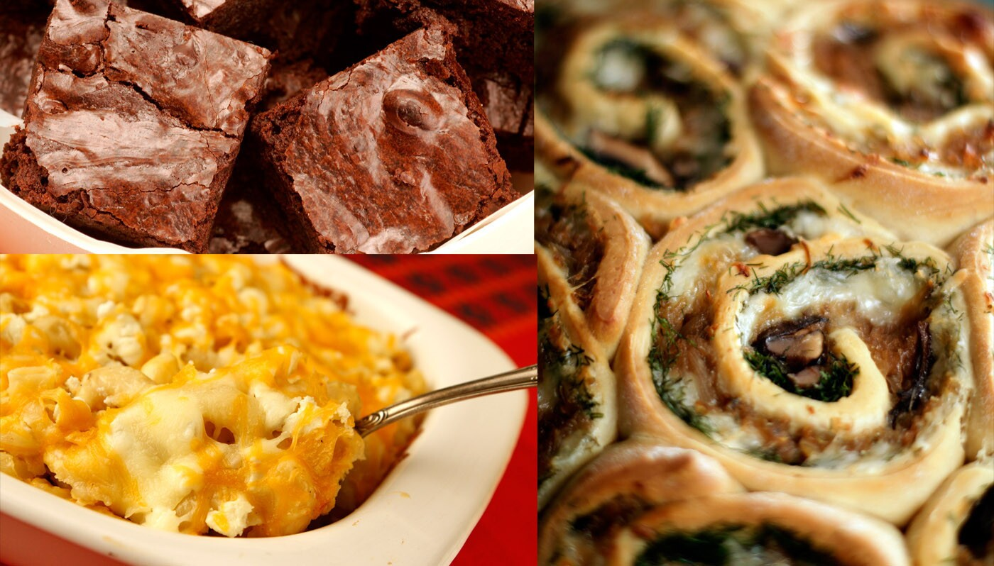 We confess: As Southern California starts to flirt with cooler temperatures, our thoughts turn to comfort foods. Creamy puddings, ooey-gooey chocolate, homemade dinner rolls, mac 'n' cheese... you get the idea. Enjoy! --Rene Lynch