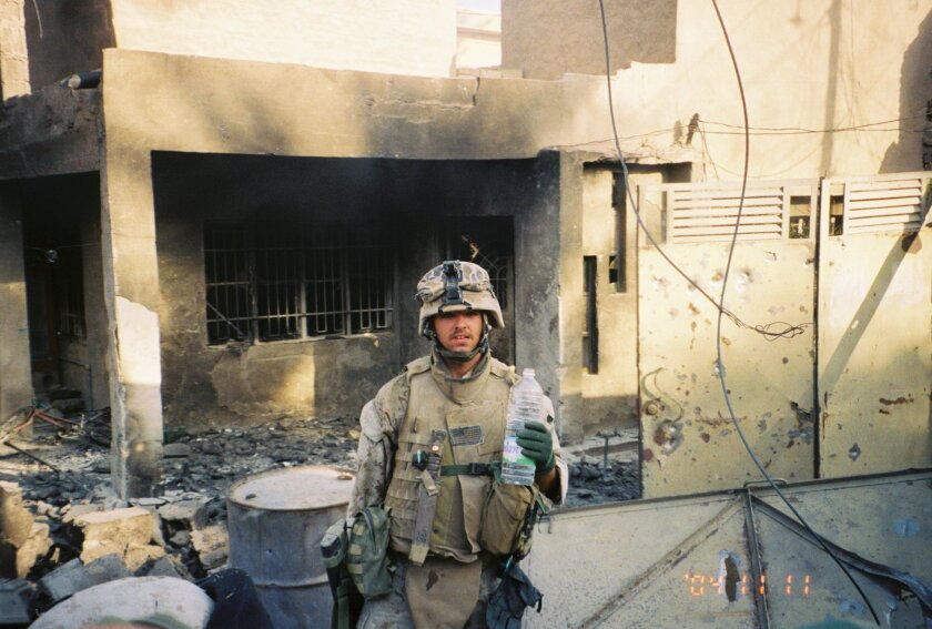 Richard Gilbert fought in the Second Battle of Fallujah with Camp Pendleton's 3rd Battalion, 1st Marine Regiment in November 2004.