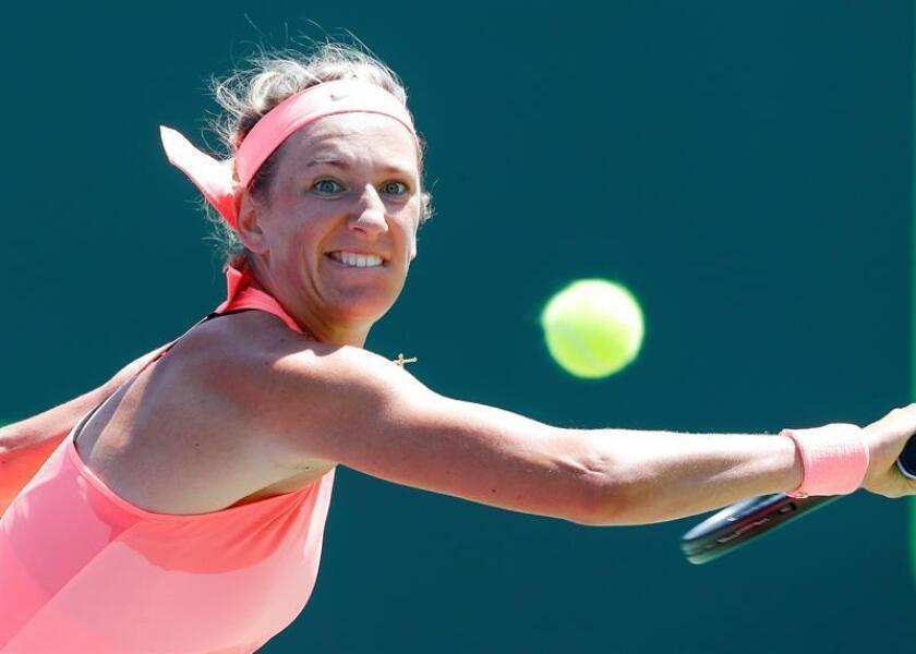En la imagen, la tenista bielorrusa Victoria Azarenka. EFE/Archivo
