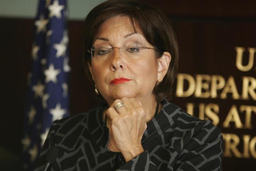 Fotografía de la fiscal Rosa Emilia Rodríguez-Vélez. EFE/Archivo