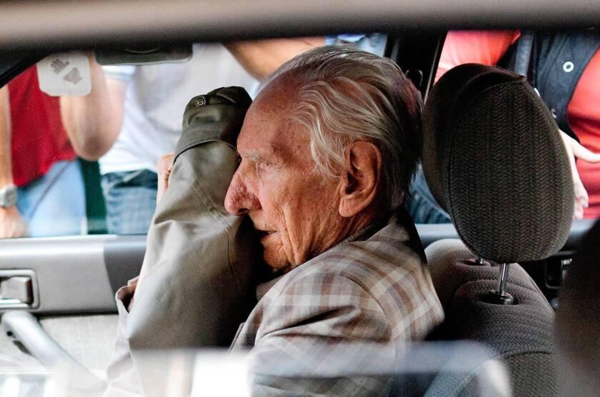 Laszlo Csatary, accused war criminal