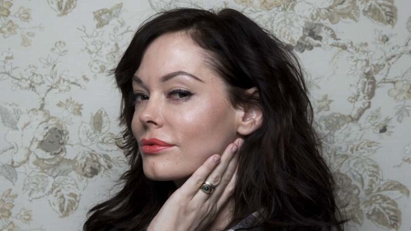 "PARK CITY, UT -- JANUARY 17, 2014--Director Rose McGowan, with the film ""Dawn,"" photographed in the"