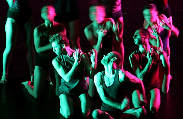 Israel's Batsheva Dance Company, whose artistic director is Ohad Naharin, performs at UCLA's Royce Hall on Saturday, Feb. 28, 2009.