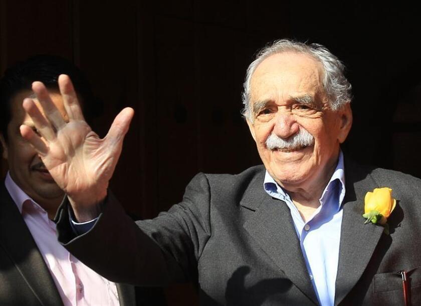 Fotografía de archivo del escritor colombiano Gabriel García Márquez. EFE/Archivo