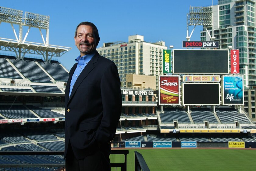 Jim Myers is the CEO of Petco, which has a 22-year naming rights deal for Petco Park.
