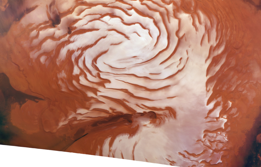 Climate Change on Mars? The answer's in the ice