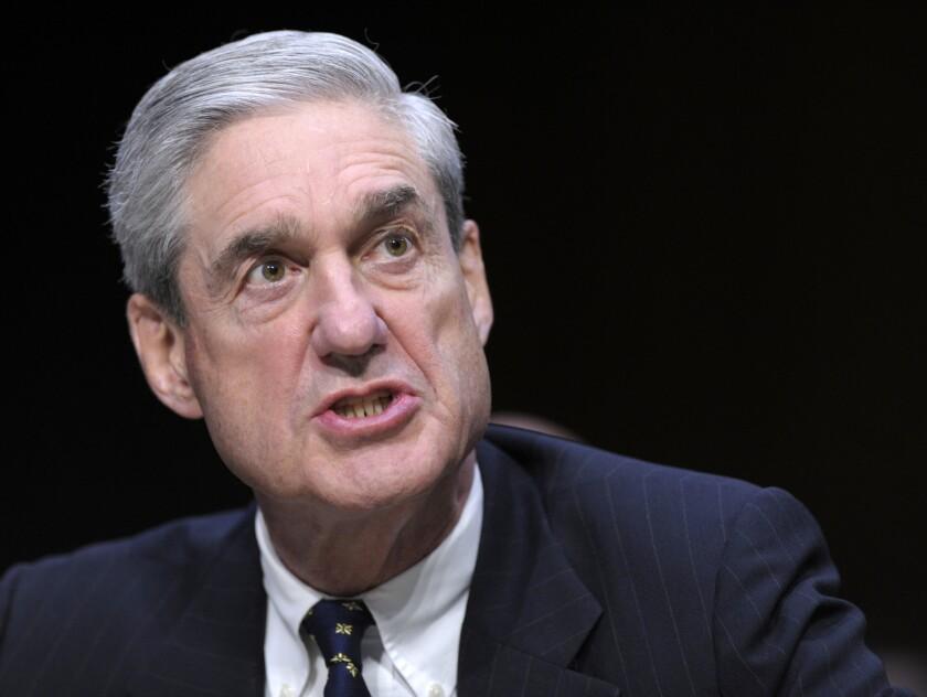 Special counsel Robert S. Mueller III