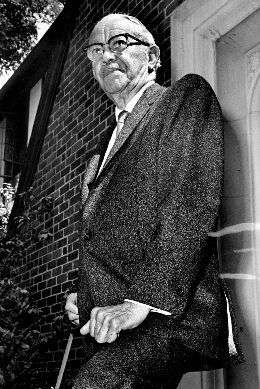 Architect Paul Revere Williams in 1970