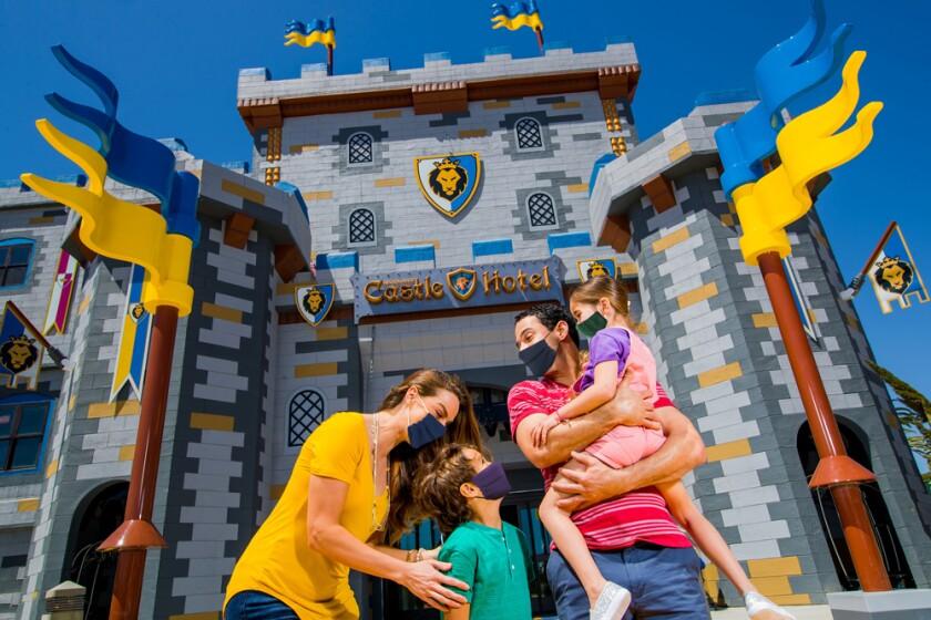The Legoland Castle Hotel.