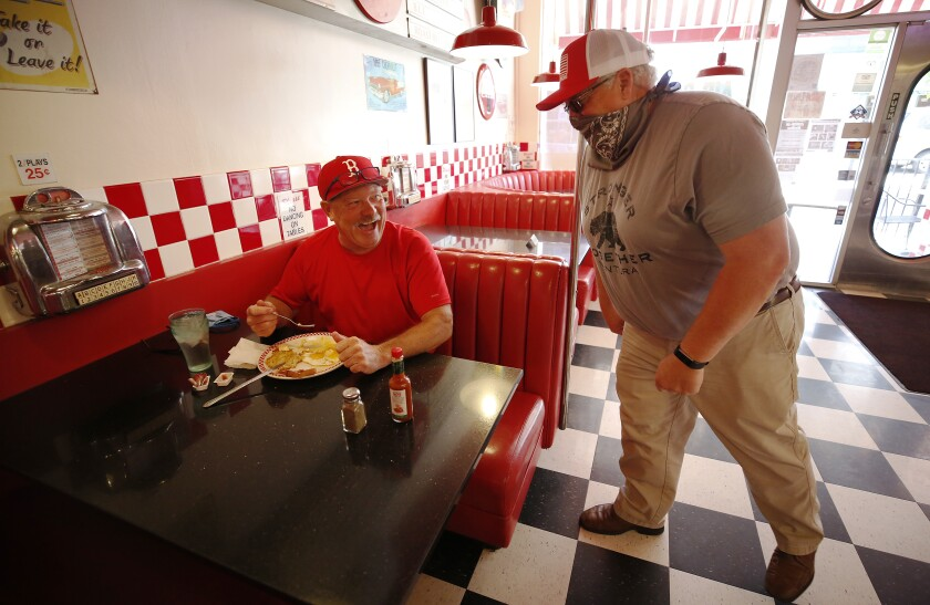 Ventura County has become the largest county in Southern California to resume dine-in service at restaurants and in-store shopping.