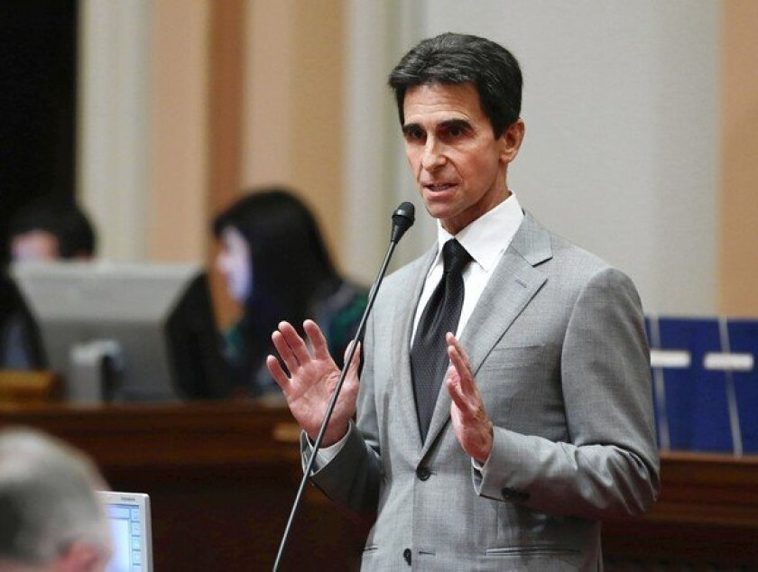 """""""This legislation would allow destination cities like San Francisco, Los Angeles and San Diego to start local conversations about the possibility of expanding night life and the benefits it could provide the community by boosting jobs, tourism and local tax revenue,'' said state Sen. Mark Leno (D-San Francisco) about a bill he introduced that could extend the last call for alcohol in some California cities until 4 a.m. Above, Leno at the Capitol in Sacramento this month."""