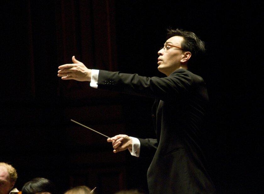 San Diego Symphony associate conductor Ken-David Masur