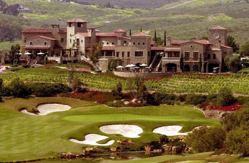 The Bridges at Rancho Santa Fe, with its 36,000-square-foot clubhouse, figured in the dispute between local developer Nicholas Marsch III and Lennar Corp.