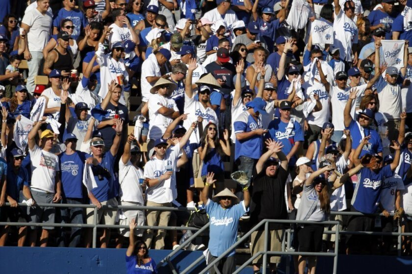 It looks like there will be plenty of fans at Dodger games next season.