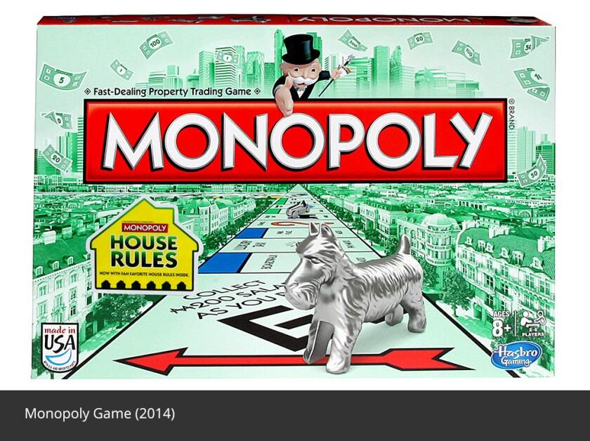 El popular juego de Hasbro, que en español se llama Monopolio, será llevado a la pantalla grande, por más caprichosa que parezca la decisión.
