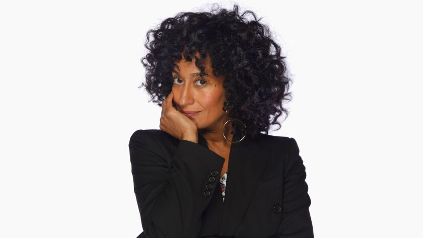 LOS ANGLES, CA., APRIL 29, 2017-- Actress Tracee Ellis Ross stopped by The Envelope for a chat about