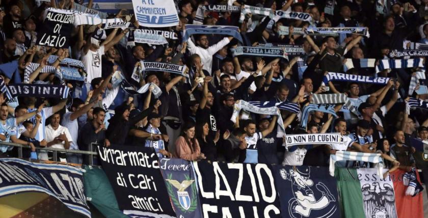 Los fanáticos del Lazio ya han tenido manifestaciones racistas y antisemitas.