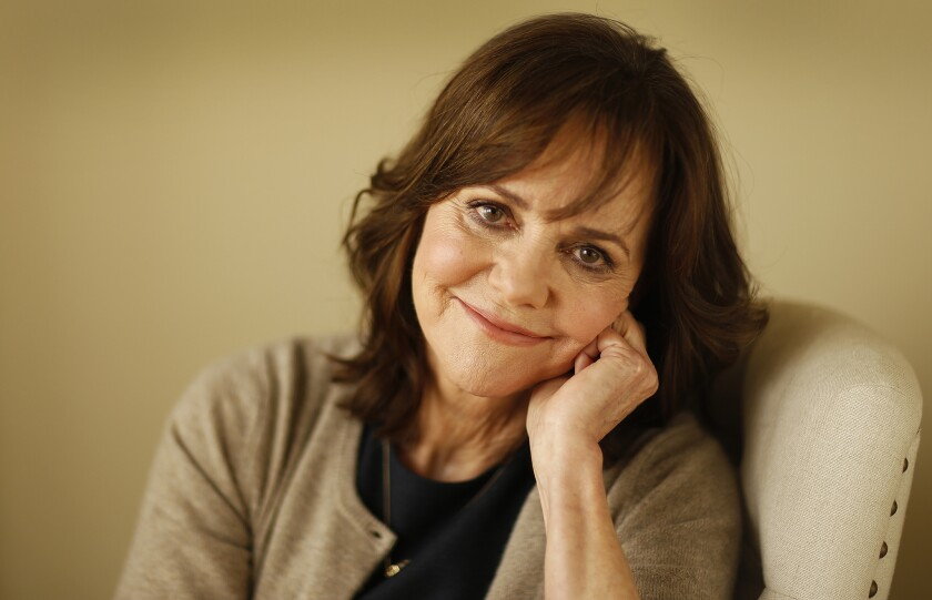 """LOS ANGELES, CA - MARCH 02, 2016 - Two time Oscar winning actress Sally Field photographer for her new film """"Hello, My Name Is Doris"""" on March 02, 2016. (Al Seib / Los Angeles Times)"""