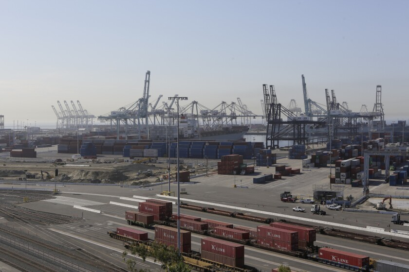 The Port of Long Beach is the nation's second busiest, behind its next-door neighbor, the Port of Los Angeles.