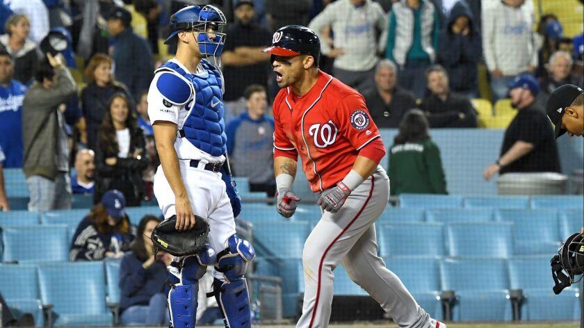 Washington Nationals v Los Angeles Dodgers