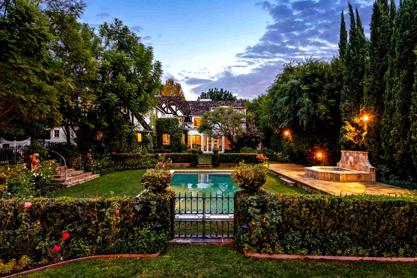 An English Tudor Revival-style house in Beverly Hills is our Home of the Week.
