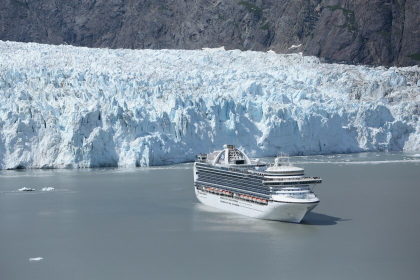 The Alaska cruise season for larger vessels could be in jeopardy because of Canada's announcement of the closure of ports to vessels larger than 500 passengers.