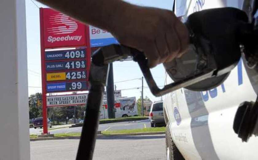 Gas prices hit another record in California