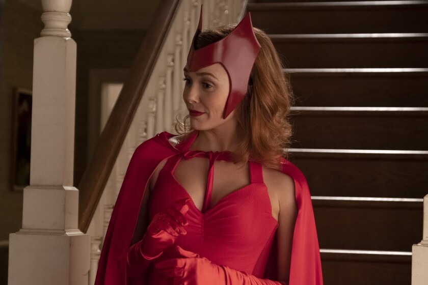 Elizabeth Olsen in 'WandaVision'