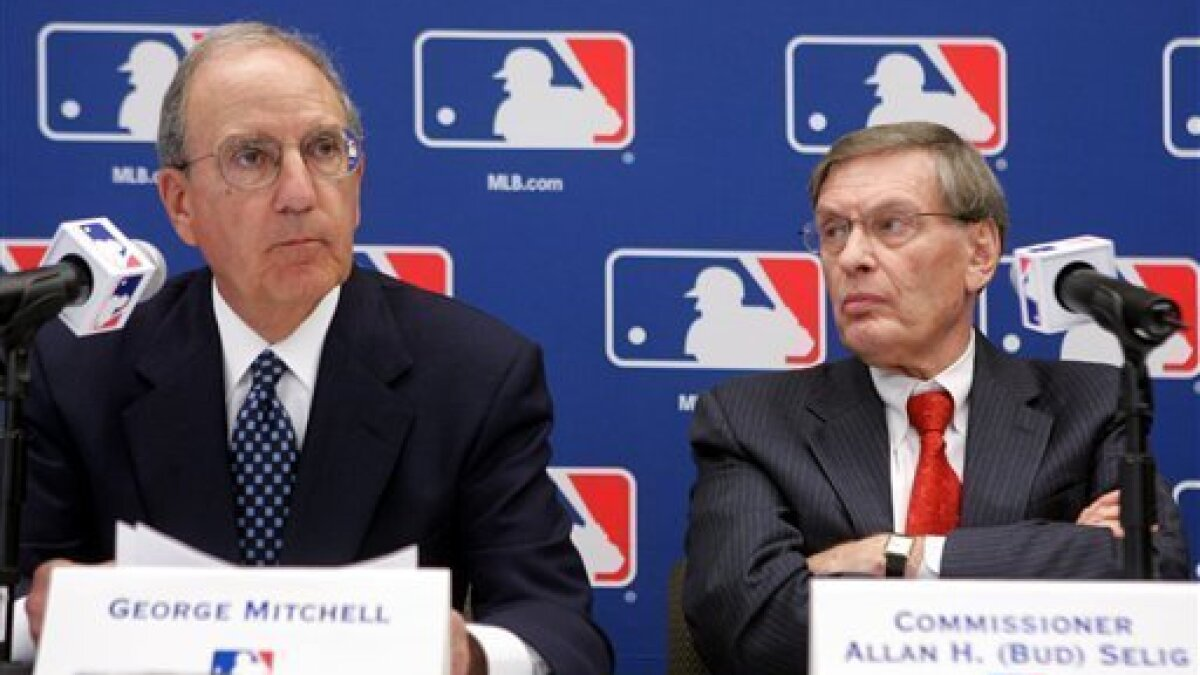 Year after Mitchell Report, MLB tries to move on - The San Diego Union-Tribune