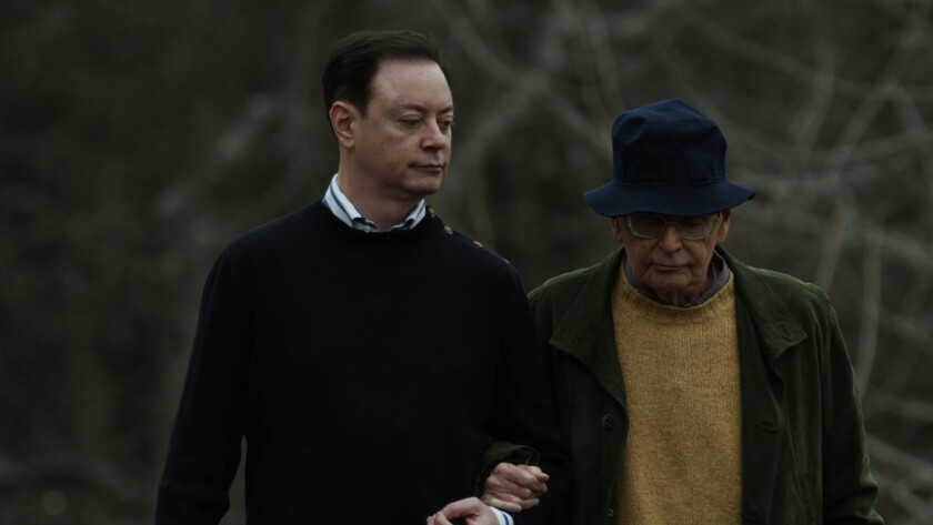 "Andrew Solomon, left, and Howard Solomon in the documentary ""Far From the Tree."""