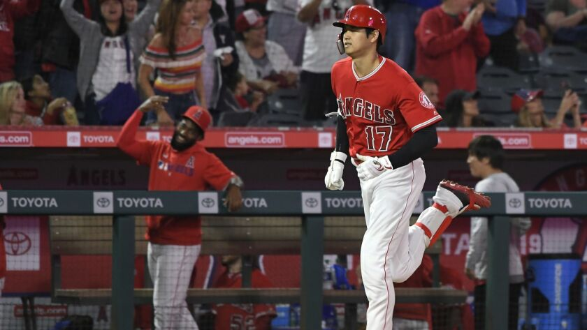 info for ba1aa e7975 Shohei Ohtani and Angels put on a power show in rout of ...