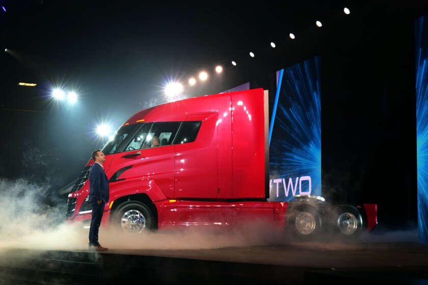 Electric truck maker Nikola looks like Tesla 2.0 — except even riskier