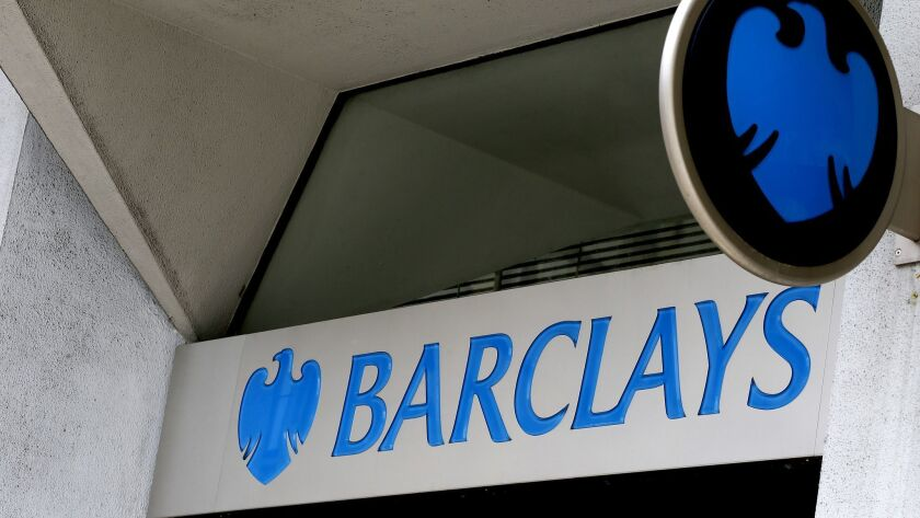 A London branch of Barclays Bank in July 2015