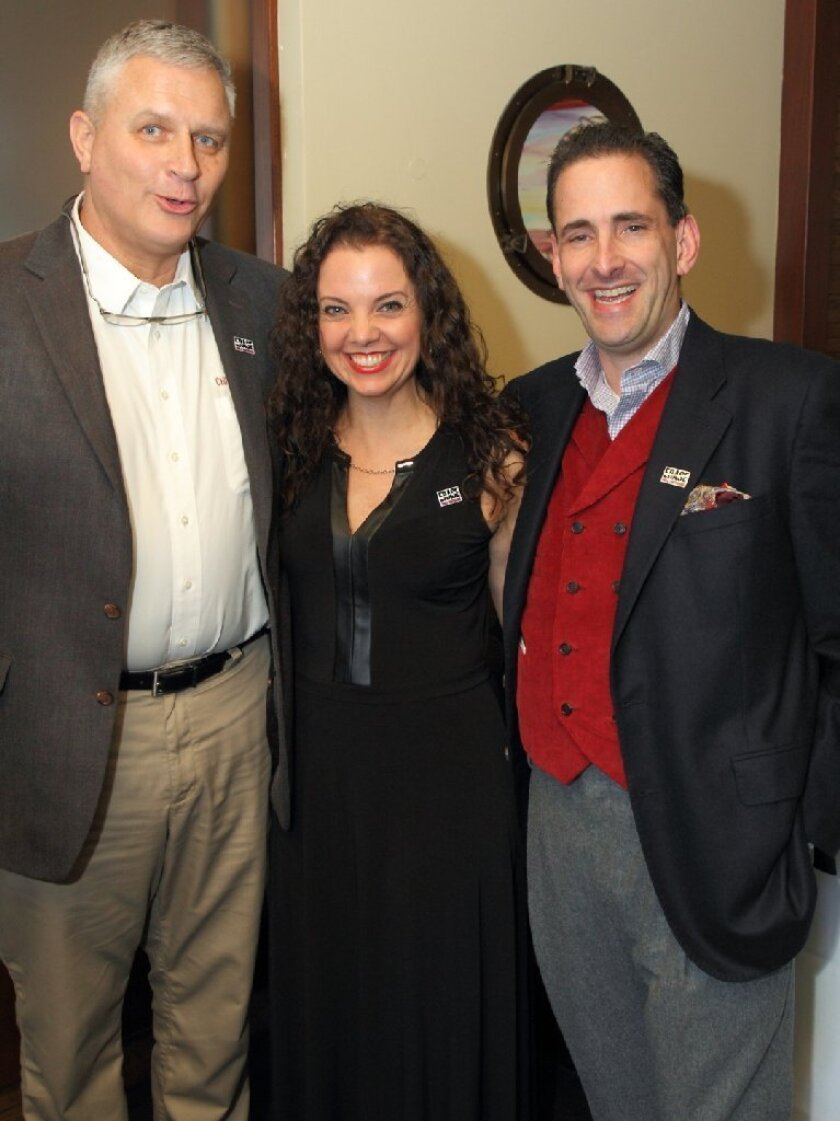 ERASE board members: Tony Sparks (Vice Chairman), Catherine Marinis-Yaqub (Vice Chairman), Steven Resnick (Chairman)