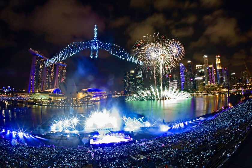 New Year's Eve - Singapore