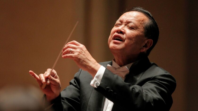 San Diego Symphony music director Jahja Ling conducts the San Diego Symphony in Brahms and Sibelius
