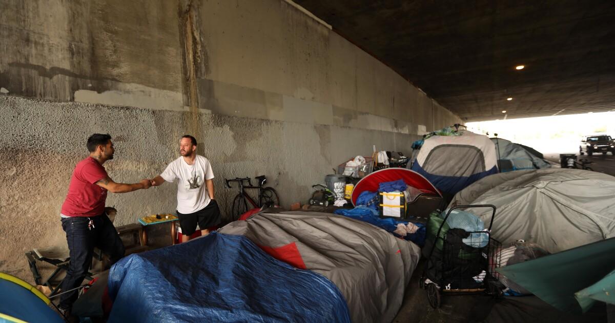 2019年には、ホームレスを実感することになように、危機の隅L.A.