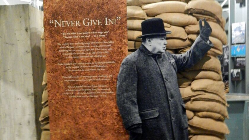Britain's darkest hour is Missouri town's finest as films once again push Churchill to the fore