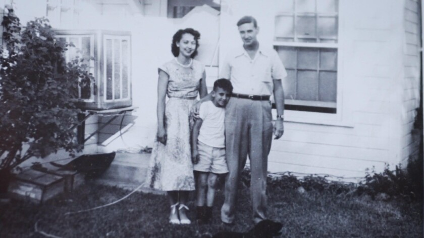 Craig Coley, center, as a boy with his parents Margie and Wilson Coley of Sherman Oaks. They both passed away while he was serving nearly 39 years in California prison for two murders he didn't commit. He was exonerated by Gov. Jerry Brown on Nov. 22, 2017.