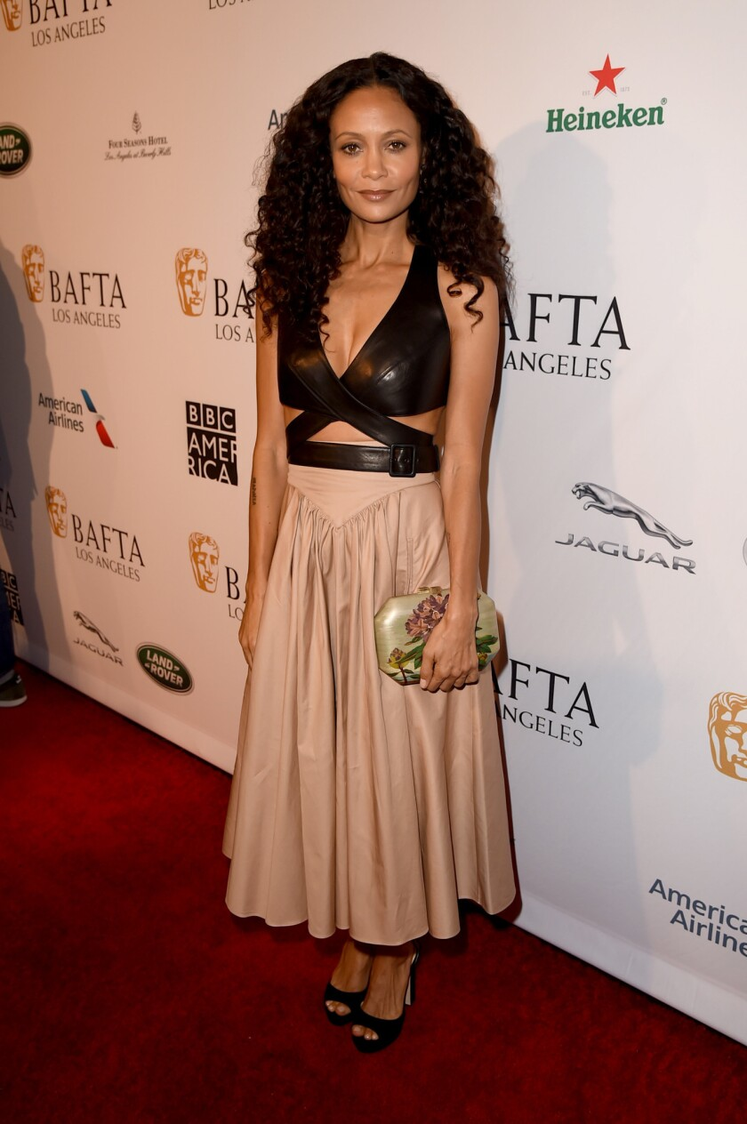Thandie Newton at the BAFTA Los Angeles tea party.